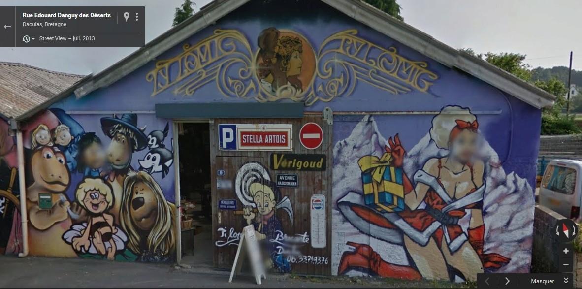 STREET VIEW : Vieilles publicités murales - Page 22 Antar_10