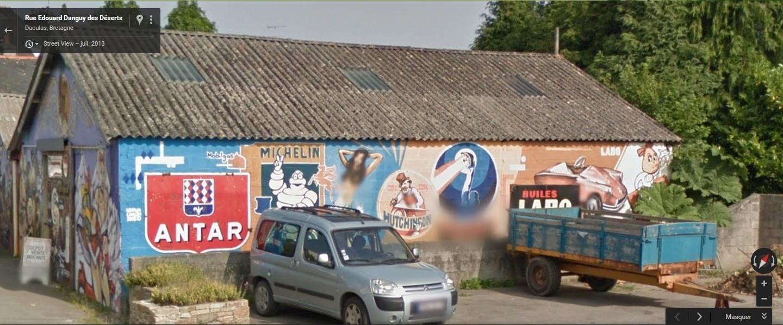 STREET VIEW : Vieilles publicités murales - Page 22 Antar_11