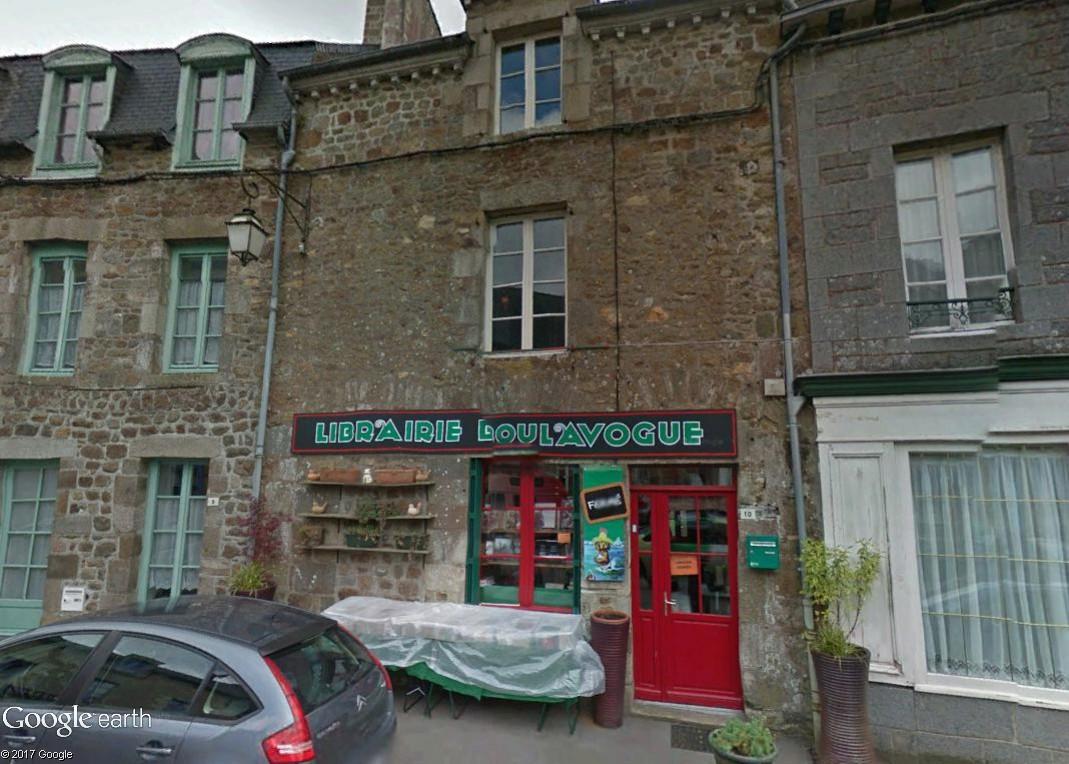 Bécherel (Ille-et-Vilaine) : 700 habitants... et quelques livres ! Boulav10