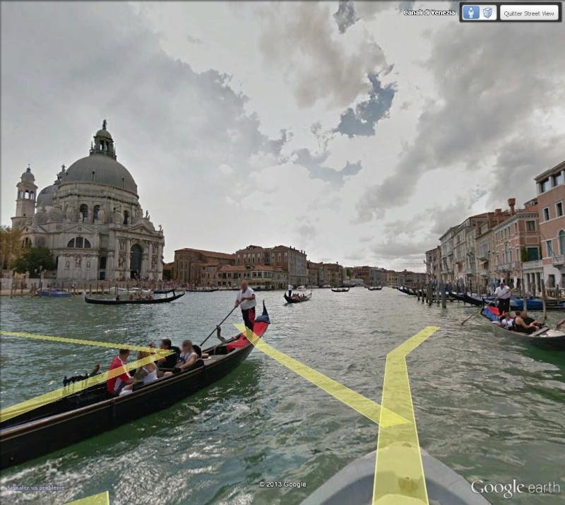 STREET VIEW en version pinceaux, fusain et crayons Canale10