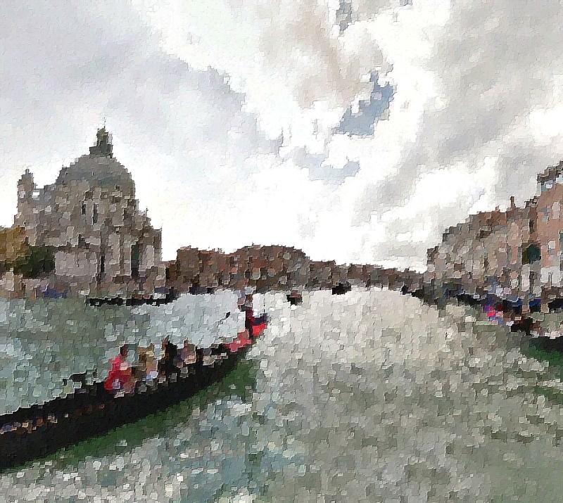 STREET VIEW en version pinceaux, fusain et crayons Canale11