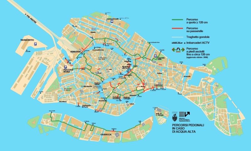 ACQUA ALTA : les inondations de Venise Carte_10