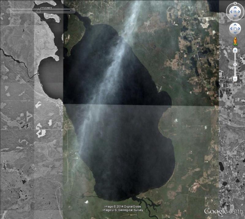 Bassin de 6km sur 5 dans un lac de Floride Collag11