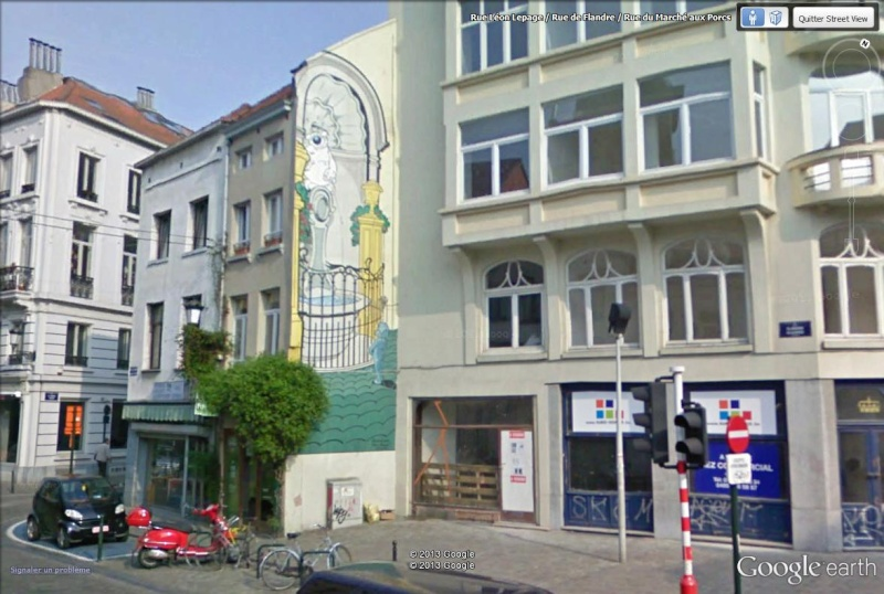 Les parcours BD de Bruxelles, Laeken et Anvers Cubitu10