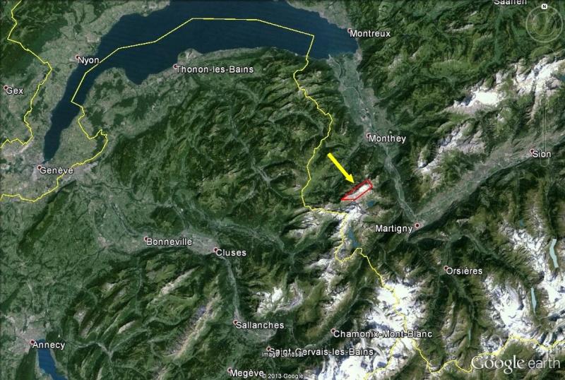L'effondrement du Tauredunum en l'an 563 (Valais, Suisse) Dents_12