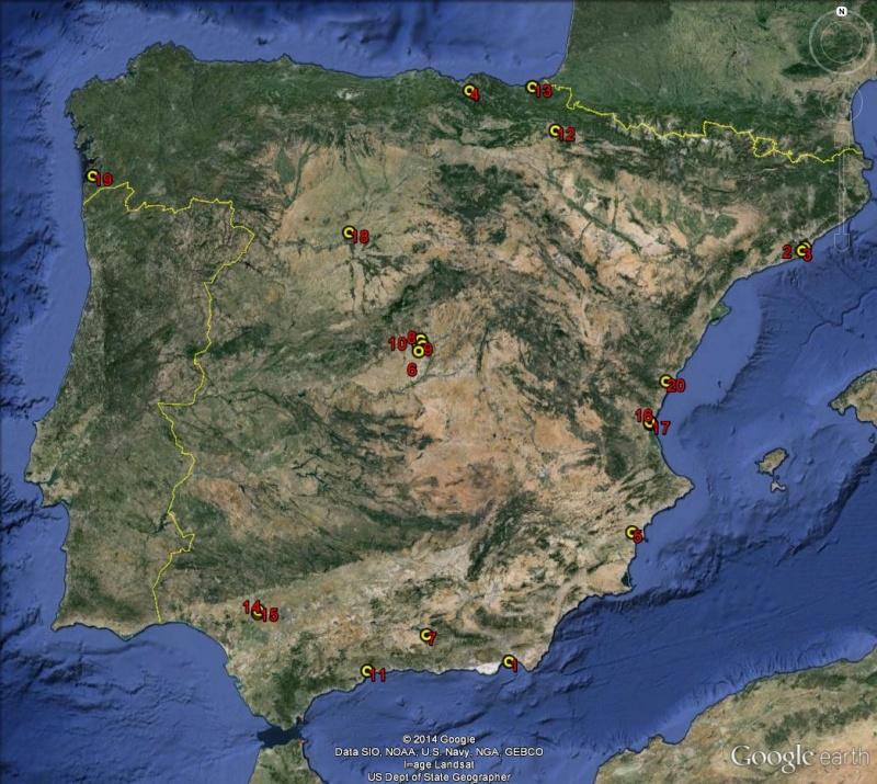 Petite géographie du football européen (championnat 2013-2014... et suivants) Espagn11