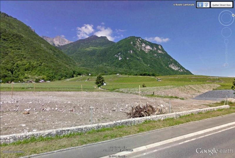 L'effondrement du Tauredunum en l'an 563 (Valais, Suisse) Evouet10
