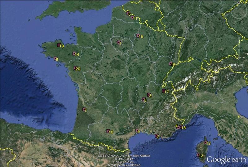 Petite géographie du football européen (championnat 2013-2014... et suivants) France10