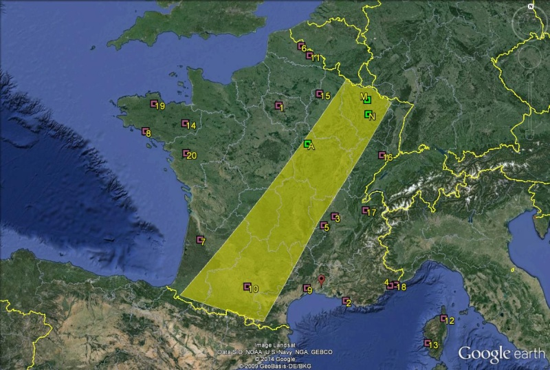 Petite géographie du football européen (championnat 2013-2014... et suivants) France13