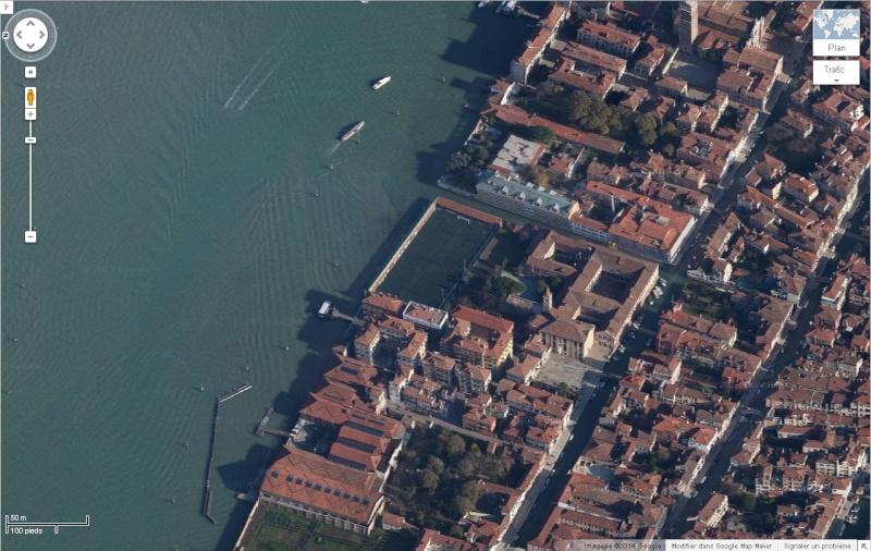 Venise : des installations sportives dans une ville-musée G_maps10