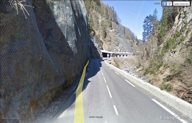 La route des Gorges de l'Arly (Savoie), route la plus chère de France Gorges10