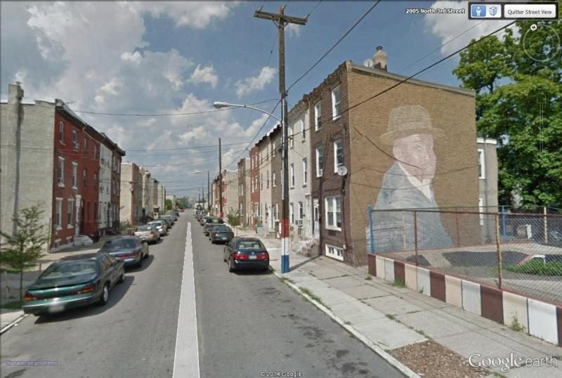 STREETVIEW : les fresques murales de Philadelphie  - Page 14 James_10