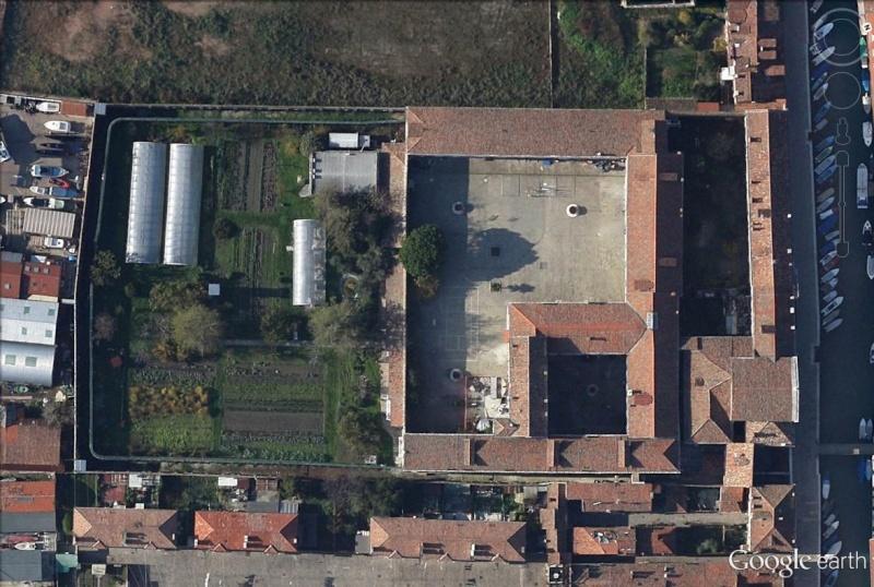 VENISE : une prison en activité à la Giudecca Jardin12