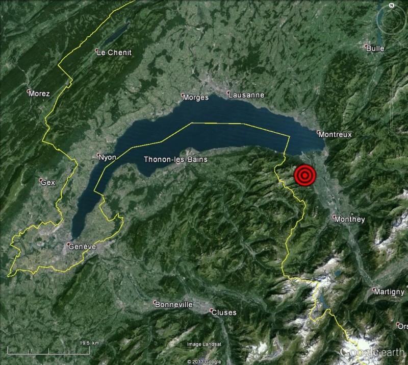L'effondrement du Tauredunum en l'an 563 (Valais, Suisse) Laman10