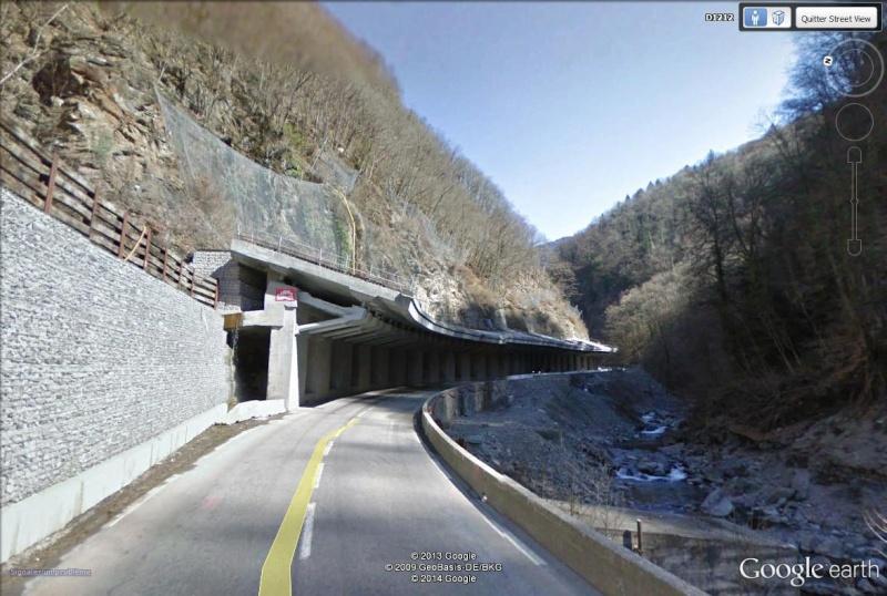 La route des Gorges de l'Arly (Savoie), route la plus chère de France Laon_g10