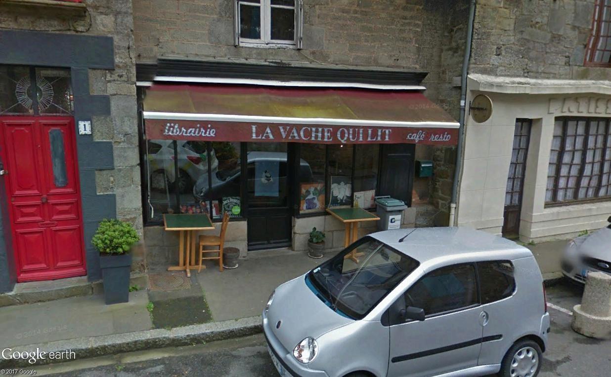 Bécherel (Ille-et-Vilaine) : 700 habitants... et quelques livres ! Lavach10