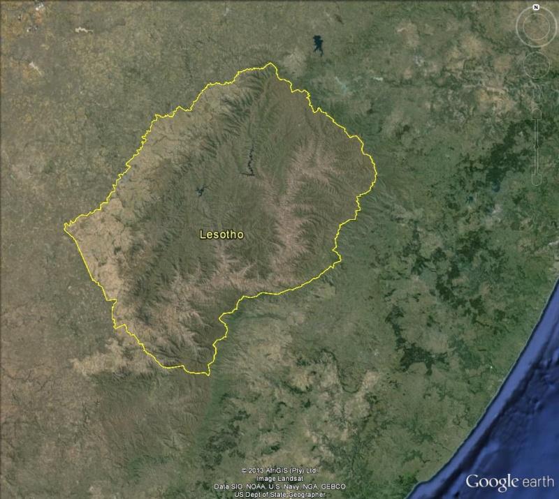 [LESOTHO] Un pays enclavé Lesoth12