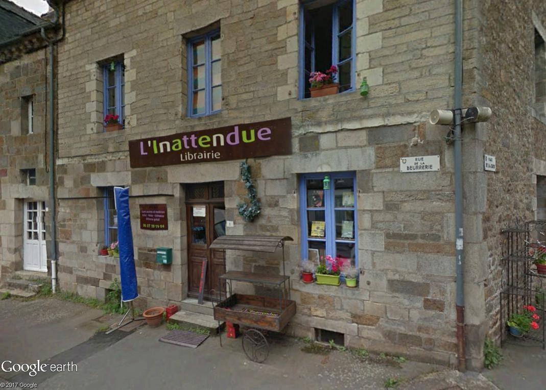 Bécherel (Ille-et-Vilaine) : 700 habitants... et quelques livres ! Linatt10