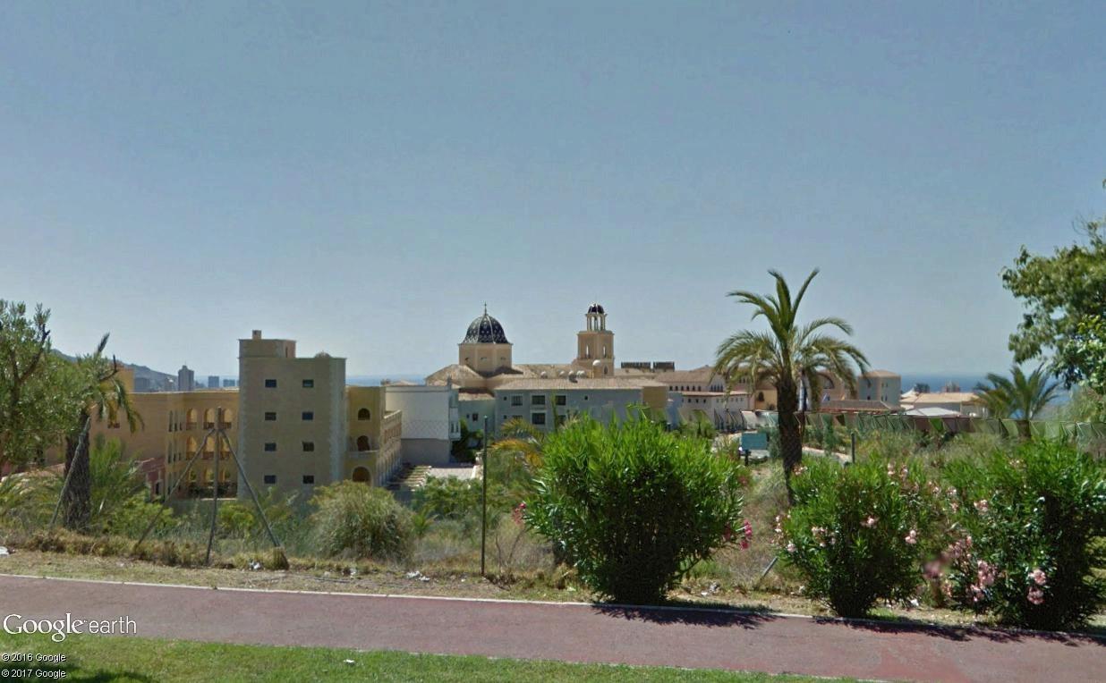L'impressionnant village-hôtel Meliá Villaitana, Benidorm (Espagne) Meliyy11