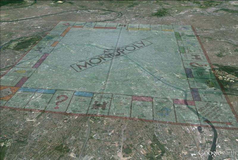 Visite de Paris en mode MONOPOLY Monopo10
