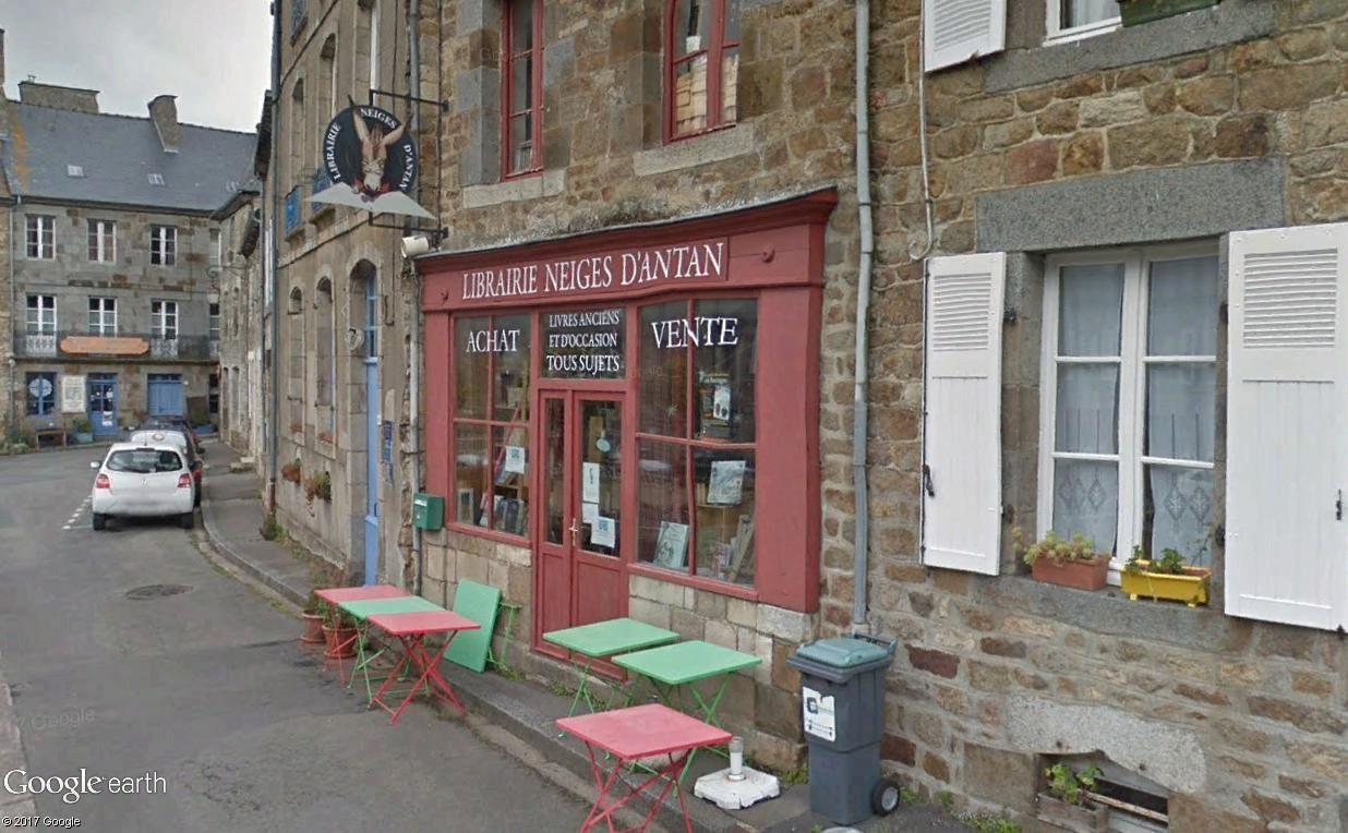 Bécherel (Ille-et-Vilaine) : 700 habitants... et quelques livres ! Neiges10