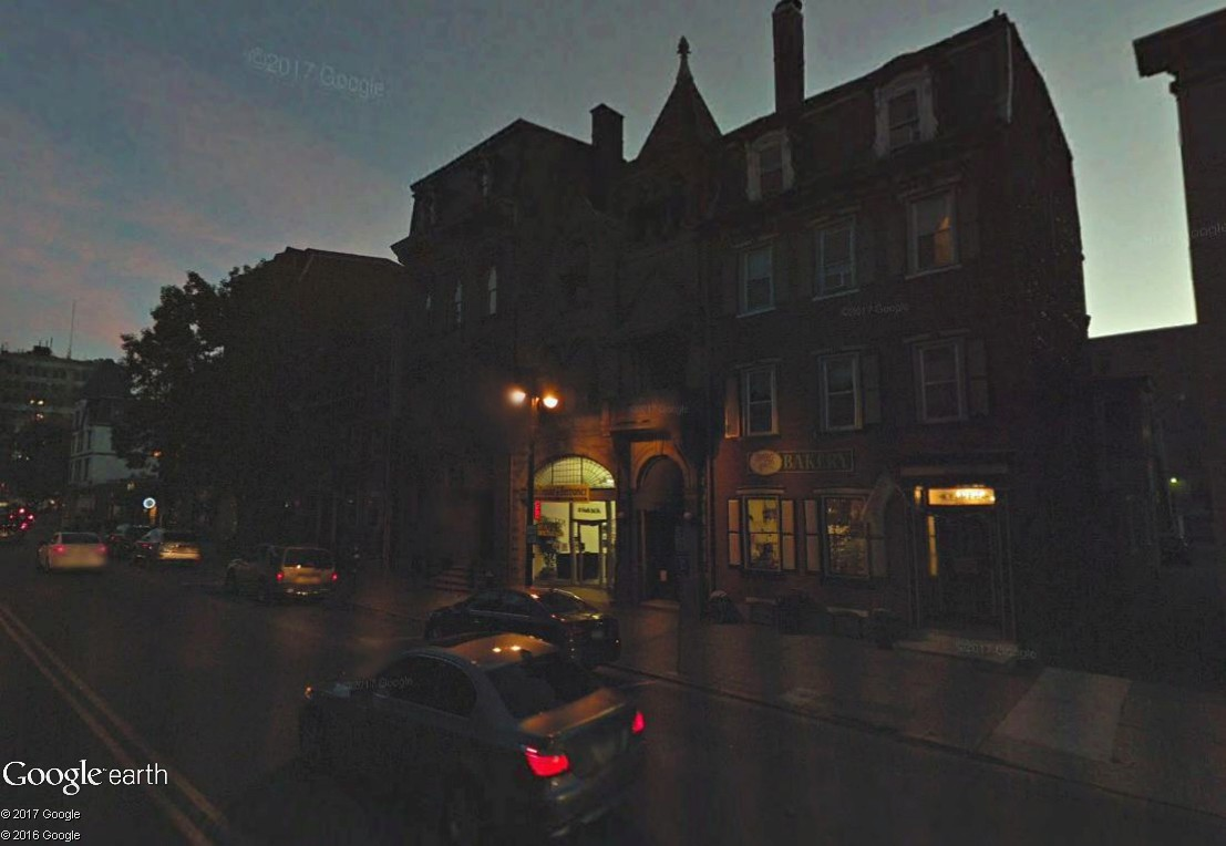 C'est beau Street View la nuit Nuit110