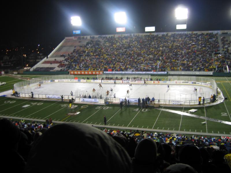 Hockey sur Glace : matchs en exterieur Outdoo10