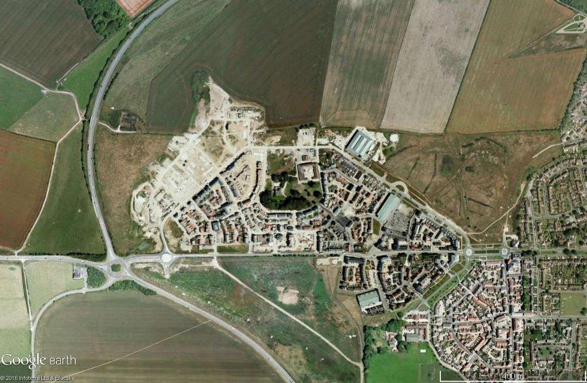Poundbury, ville nouvelle créée par le Prince Charles Poundb11