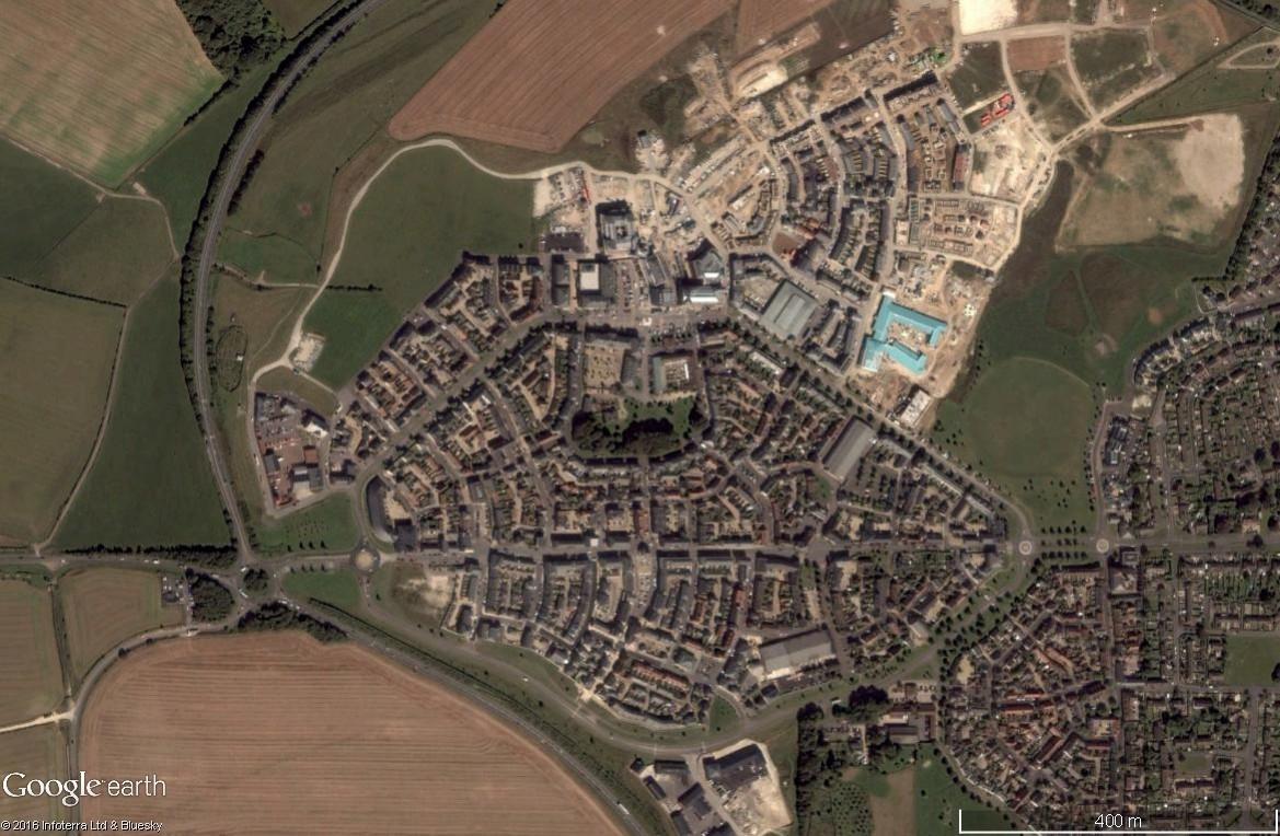 Poundbury, ville nouvelle créée par le Prince Charles Poundb15