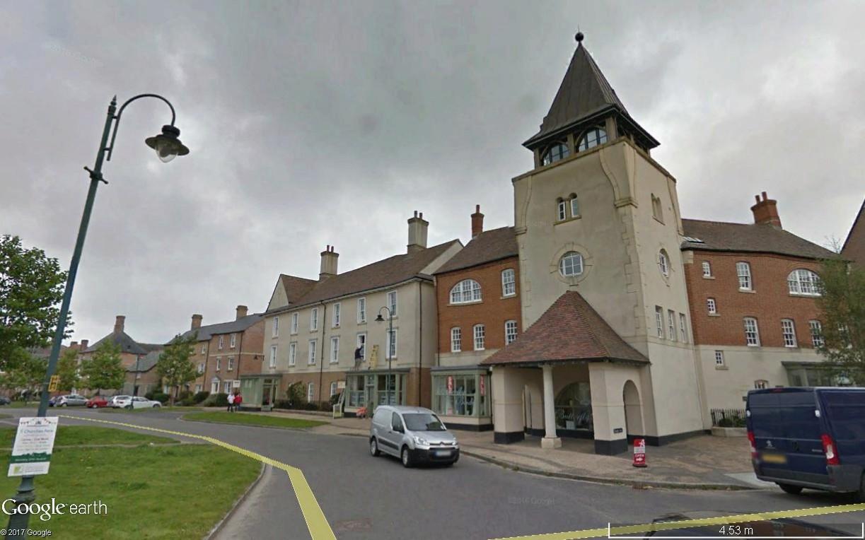 Poundbury, ville nouvelle créée par le Prince Charles Poundb20