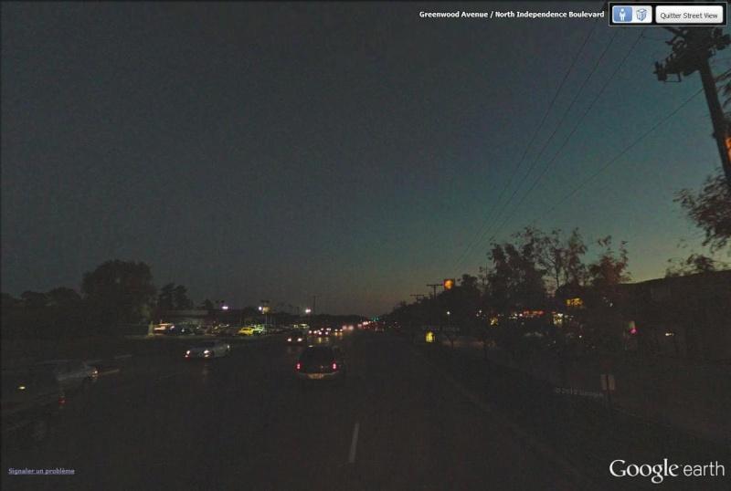 C'est beau Street View la nuit Route_10