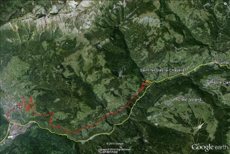 La route des Gorges de l'Arly (Savoie), route la plus chère de France Route_11