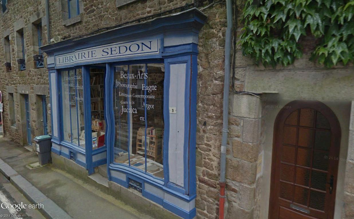 Bécherel (Ille-et-Vilaine) : 700 habitants... et quelques livres ! Sedon10