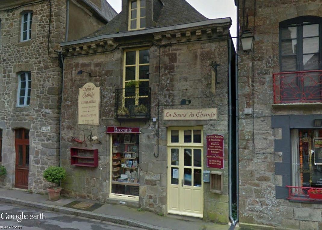 Bécherel (Ille-et-Vilaine) : 700 habitants... et quelques livres ! Souris10