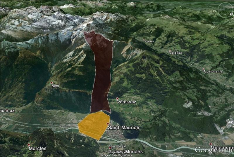 L'effondrement du Tauredunum en l'an 563 (Valais, Suisse) St_mau10