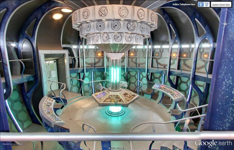 Le Doctor Who et son TARDIS se sont posés à Londres Tardis10