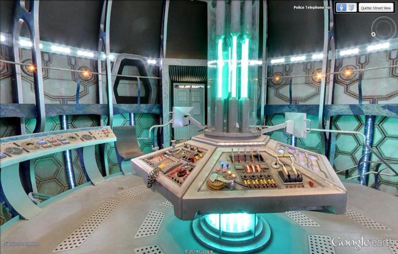 Le Doctor Who et son TARDIS se sont posés à Londres Tardis11