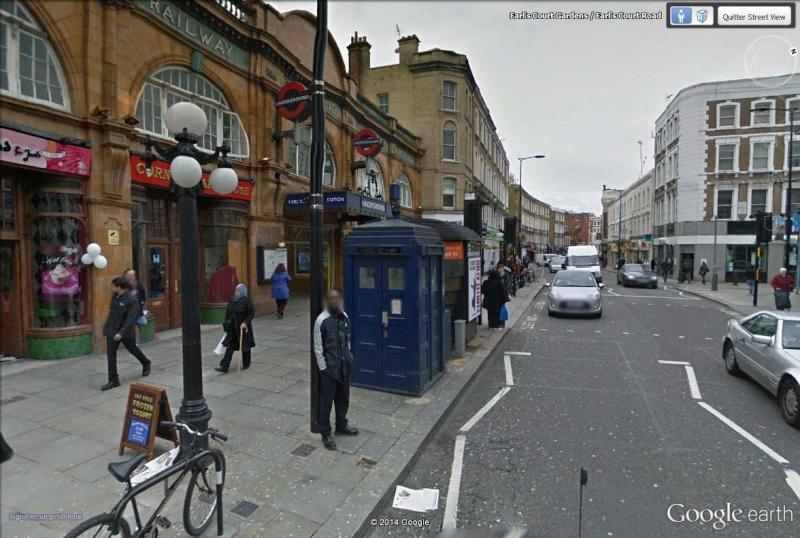 Le Doctor Who et son TARDIS se sont posés à Londres Tardis12