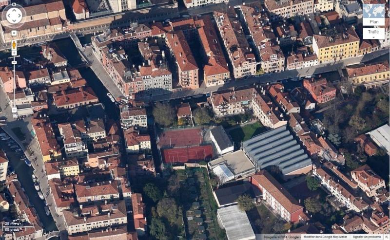 Venise : des installations sportives dans une ville-musée Tennis12