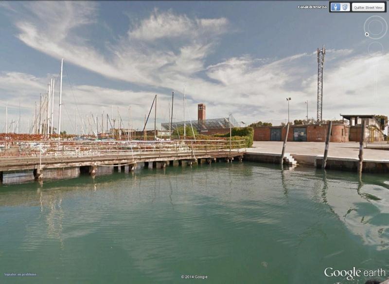 Venise : des installations sportives dans une ville-musée Tribun10