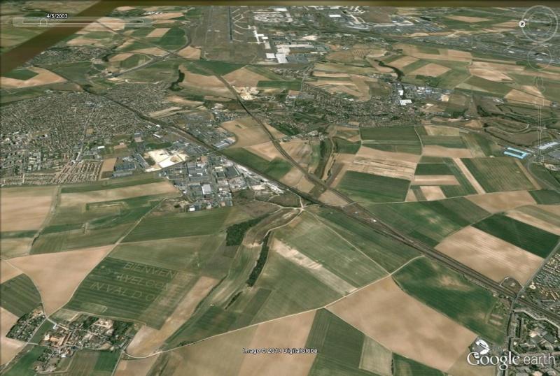 """Message """"Welcome in Val d'Oise"""" près de l'aéroport Roissy-Charles de Gaulle Val_d_10"""