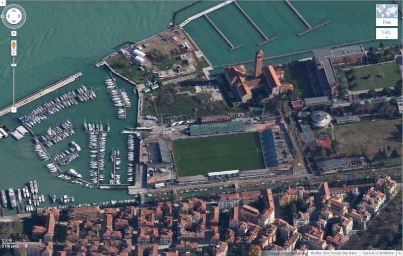 Venise : des installations sportives dans une ville-musée Venise22