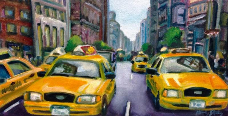 STREET VIEW en version pinceaux, fusain et crayons Y_cab10