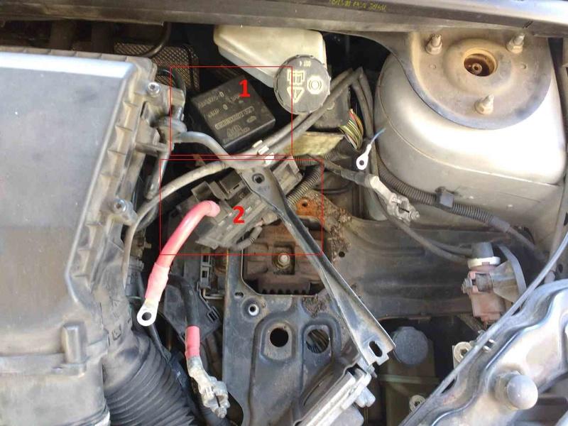 [ Ford Fiesta 1.6 TDCi an 2007 ] Problème bougies préchauffage P0380 bridage moteur (résolu) Ford_c10