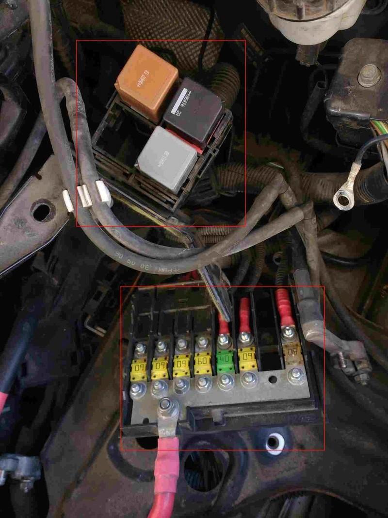 [ Ford Fiesta 1.6 TDCi an 2007 ] Problème bougies préchauffage P0380 bridage moteur (résolu) Ford_c12