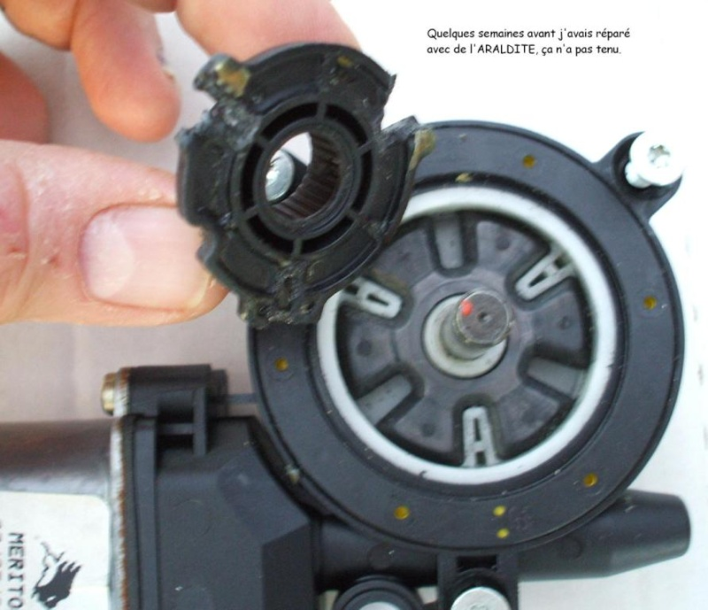 [ Renault Twingo an 2000 ] Réparation moteur lève vitre (tuto) Pignon14