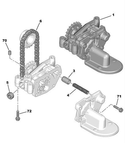 [ Peugeot 206 1.4 16v an 2004 ] Remplacement pompe à huile  Pompe_10