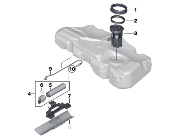 [ mini R56 Cooper D 2.0 D 16V 112 an 2013 ] filtre à gasoil Sans_t10