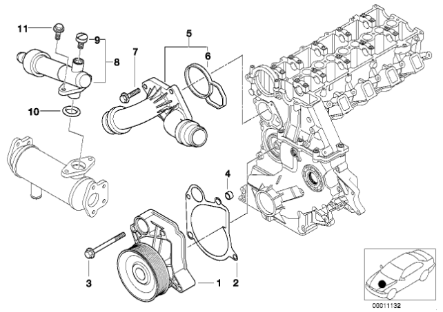 [ BMW E46 320d M47 an 1998 ] Perte ou consommation de LDR Thermo10
