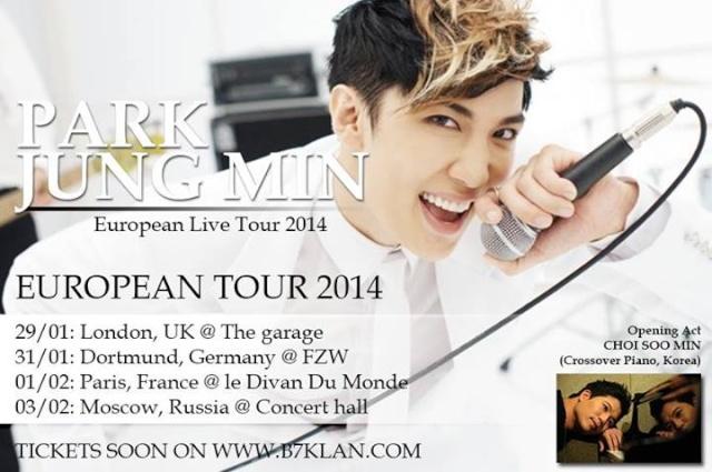 Message de Park Jung Min à ses fans européeens Park11